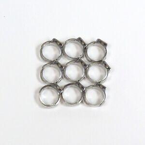 SAECO Ohrschlauchklemme Ring Klemme Schlauchklemme 9,5mm Schlauchschelle AUSWAHL