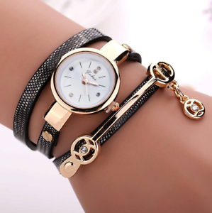 hot-new-Watch-fashion-circle-ladies-watch-fine-strap-watch-ladies-black
