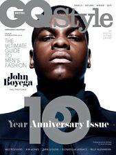 GQ Style BRITISH 2015 John Boyega STAR WARS Kim Jones Nan Goldin Nile Rodgers