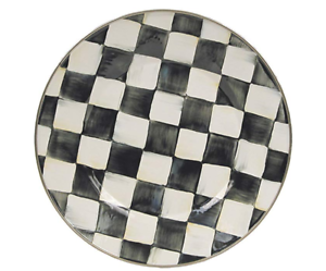 MacKenzie-Childs-Enamelware-Courtly-Check-Dinner-Plate