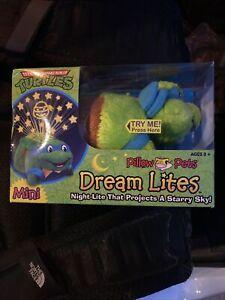 Mini Pillow Pets Dream Lites Teenage Mutant Ninja Turtles Night Lite Leonardo 735541705151 Ebay