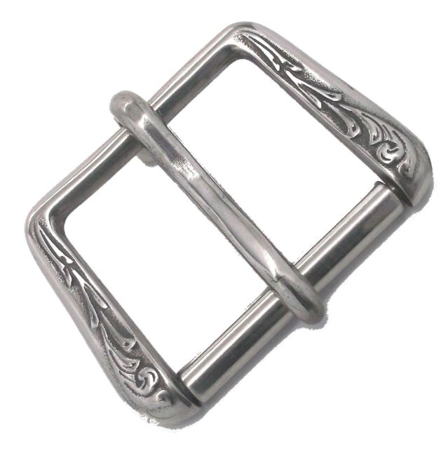 """Stainless Steel Metal Roller Buckle 1-1/2"""" 35205-06 by Tandy Leather"""