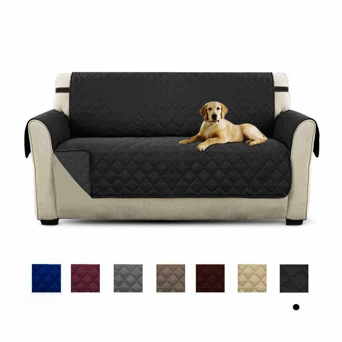 Waterproof Pet Kids Mat Furniture Protector Sofa Cover Slipcover Fit Home Decor