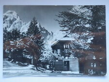 FUSINE VALROMANA Albergo Edelweiss Mangart Udine vecchia cartolina