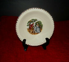 Rim Fruit/Dessert (Sauce) Bowl in Godey Prints by Harker Pottery Co.