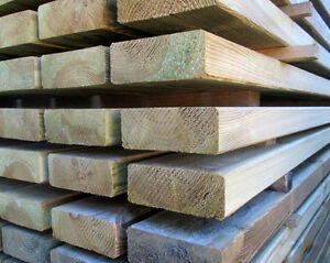 Tavola legno impregnato 45x90x2000 mm. per esterni trattato in ...