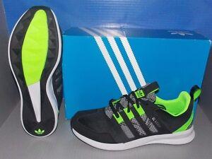 mens adidas sl loop runner in colori nero / verde / grey 46