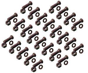Plow Bolt /& Nut for Blades//Cutting Edge Dome Head 18 5//8-11x2 1//4 Grade 8