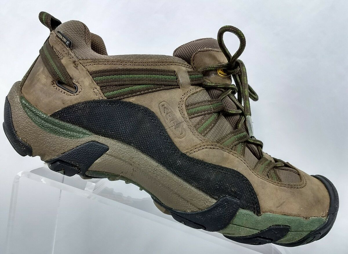 56afd77385509 Mens Brown Trail Sneakers Size 9 Hiking KEEN nnejpc7371-Athletic ...