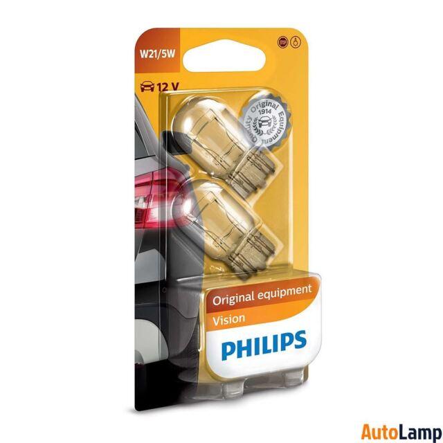 PHILIPS W21/5W Vision 12V Interior y senalización Bombilla Set 12066B2