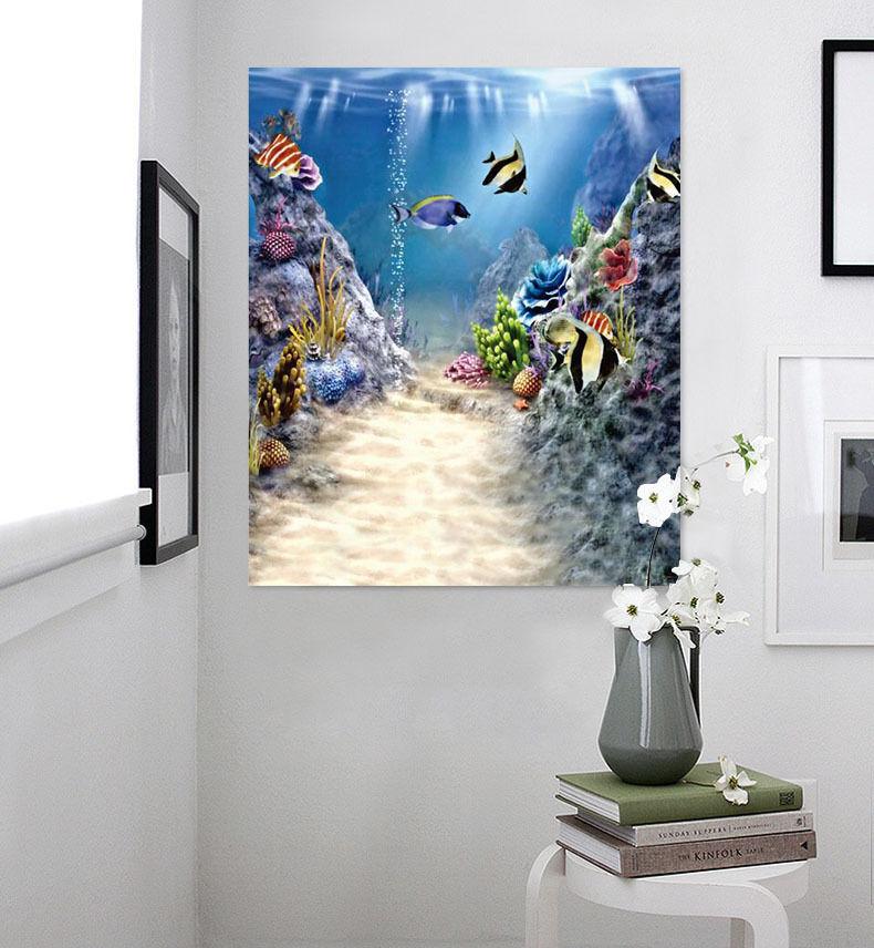 3D Schöne Seefisch 254 Wandbild Fototapete Bild Tapete Familie AJSTORE DE