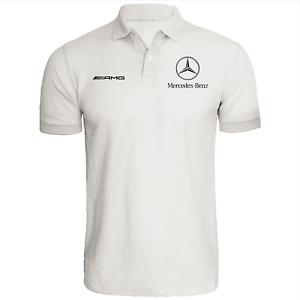 Mercedes benz polo shirt amg automotive racing dtm for Mercedes benz t shirt