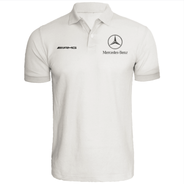 Mercedes Benz Polo shirt * AMG * automotive * racing * DTM * QUALITY * F1