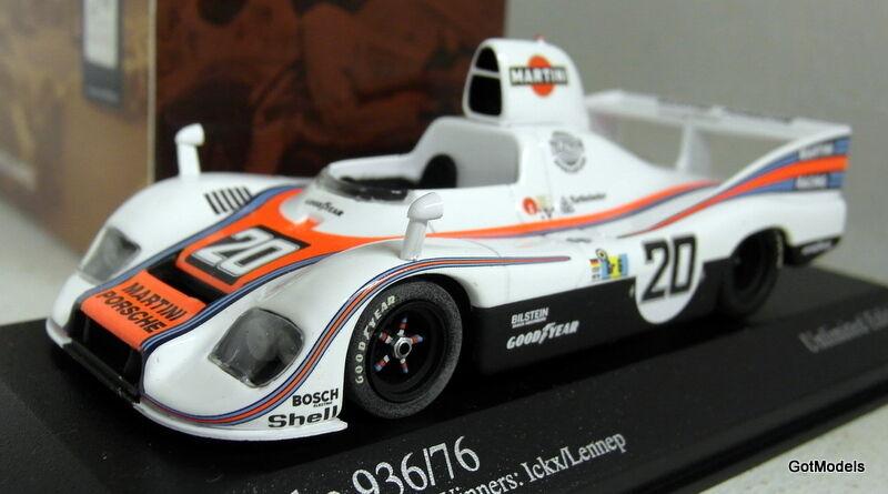 opciones a bajo precio Minichamps Escala 1 43 400 766620 Porsche 936 Ganadores Le Le Le Mans 24H 1976 § Lenne  artículos de promoción