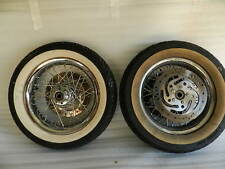 2008 AND NEWER HARLEY FLSTC HERITAGE SOFTAIL PROFILE LACED WHEELS