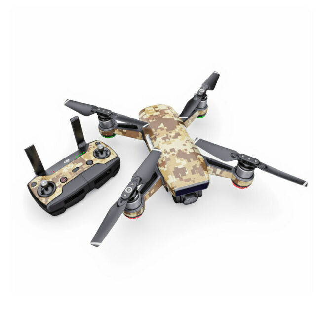 f69fda9cdc0 Coyote Camo Decal for Drone DJI Spark Kit Includes Skin Controller & 1  Battery
