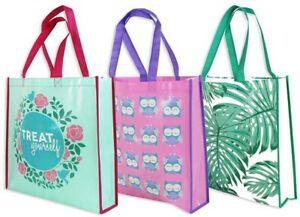 Large-Reusable-Women-039-s-Ladies-Shopping-Tote-Bag-Travel-Foldeble-Shopping-Bags-UK