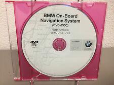GENUINE OEM BMW NAVIGATION DVD DISC CD 2008.1 GPS MAP SERIES 3, 5, 7, M3, X5, X3