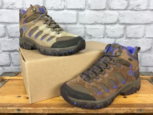 Boots Mid Ladies purple Various Bolt Ridgepass Sizes Brown Merrell Walking C0Otqww