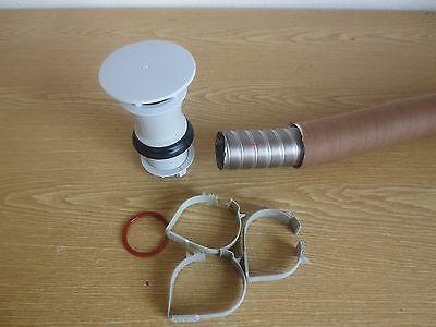 Trumatic Heizung, Dachkamin - Set für Truma S 3002,  Abgasrohr 55 mm, 2,5 m