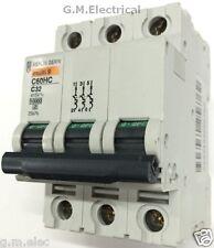 Merlin GERIN 32 Amp Type C Triple Pole 3 Phase MCB C60HC332 ...