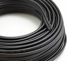 Voodoo Black Speaker Wire 16 gauge True AWG true spec 100ft home / car audio