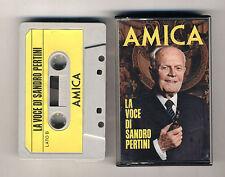 Mc LA VOCE DI SANDRO PERTINI Presidente della Repubblica Italia AMICA 1983