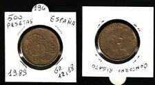 500 PESETAS ESPANA - JUAN CARLOS I - ANNO 1989 - GRAMMI 12,18 - BELLA- N.196