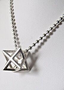 Kabbalah talisman amulet silver merkaba merkabah chariot pendant image is loading kabbalah talisman amulet silver merkaba merkabah chariot pendant aloadofball Gallery