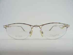 Der GüNstigste Preis Leichte Damen-brillen 23ct Vergoldet Ebm 2287 Gold/silber/schwarz Gr Damen-accessoires M 51-18 Beauty & Gesundheit