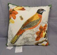 "Pottery Barn Alaina Birdoutdoor Pillow 20"""