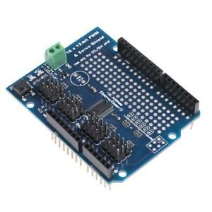 16 Channel Shield Module 12-bit PWM Servo Shield Driver-I2C Board for Arduino