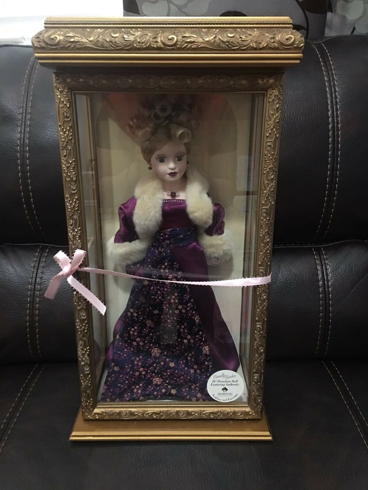 2000 Camellia Garden  Collection 16  Porcelain Doll with Swarovski in Case