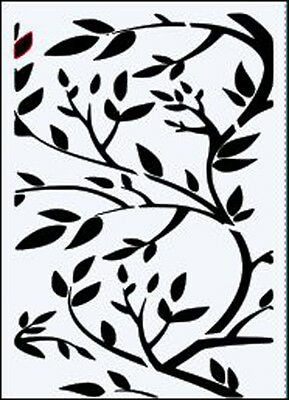 Bare Tree inc Inner  durable 190 micron Mylar Stencil A5 A4 A3 ***NEW***