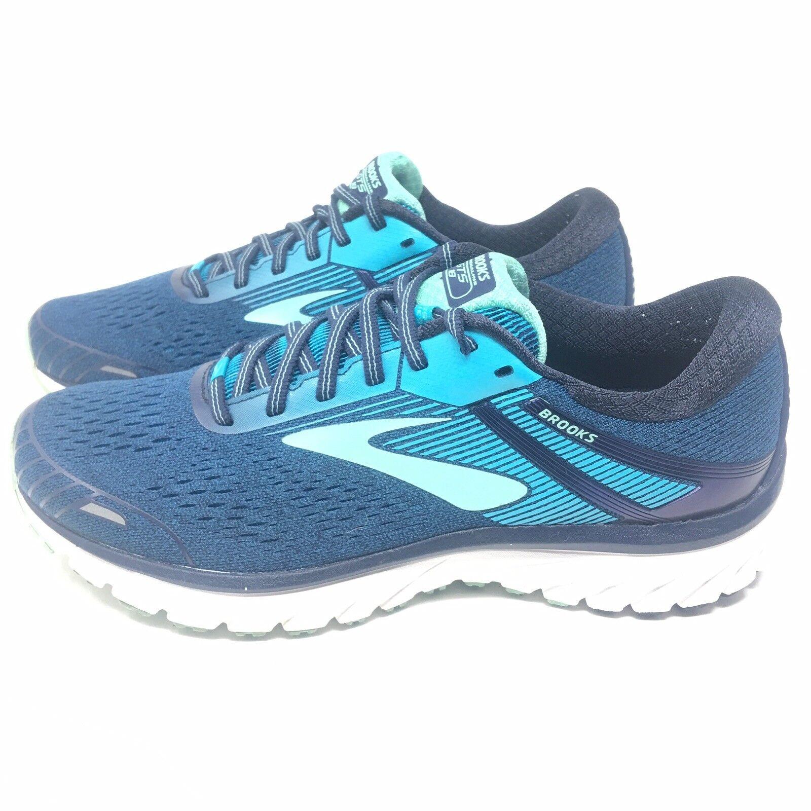 Brooks Adrenaline GTS 18 Running scarpe scarpe da ginnastica Wouomo Sz 11 M Navy Teal