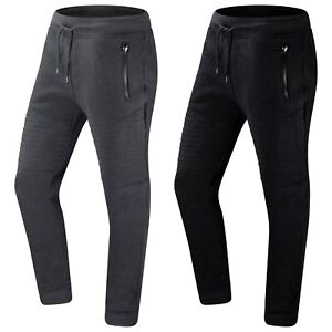 Trending Apparel New Men Quilted Fleece Joggers Pants Jogger Elastic Stretchy Sweatpants