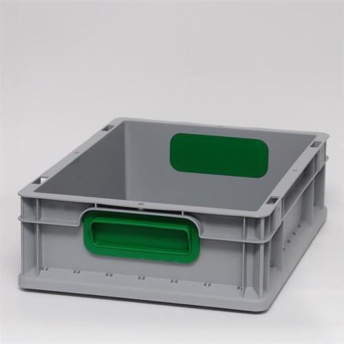 Boîtes eurokiste eurokasten eurobehälter lagerbox camp caisse 400x300x120mm