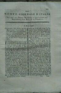 1790-NUOVO-GIORNALE-D-039-ITALIA-STUDIO-FIUME-BRENTA-DI-LIMENA-ULIVI-IN-DALMAZIA