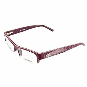 f9b240ff573 SMITH RX WOMEN S CHAINMAIL PRESCRIPTION EYEGLASS FRAME VIOLET PINK ...