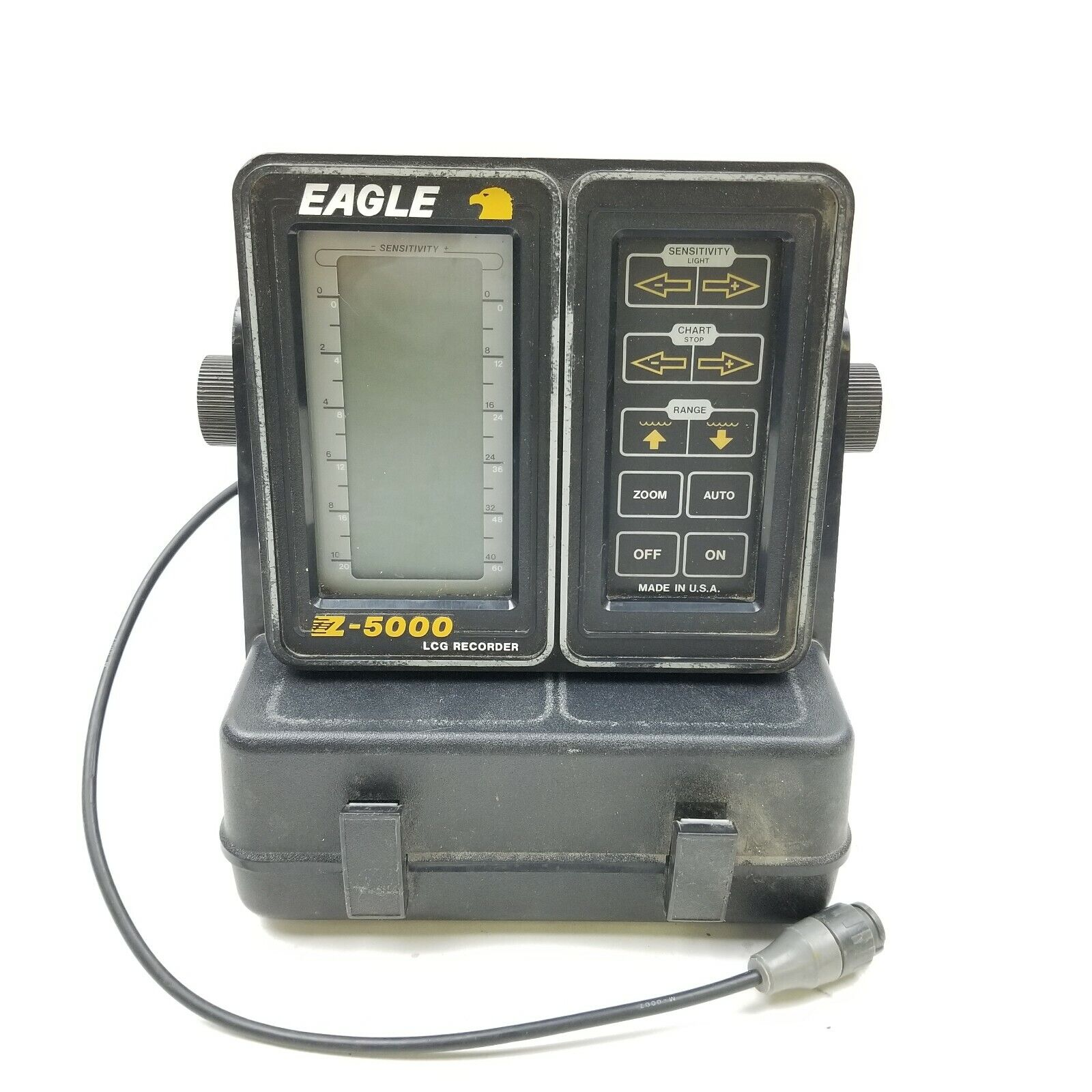 Eagle Z-5000 LCG Recorder Depth  Fish Finder With Base  for sale