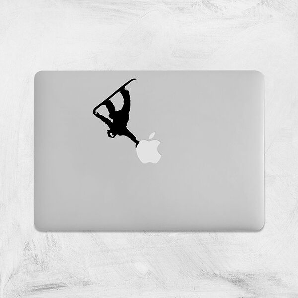 Decal for macbook pro sticker vinyl laptop funny mac air 11 13 15 snowboard