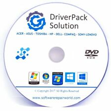 Toshiba Drivers Pack Disc for Windows 10 8 7 Vista XP 32/64 Bit for