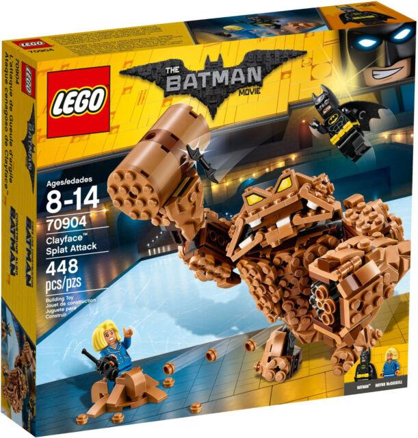 LEGO 70904 The Batman Movie Clayface Splat Attack MISB