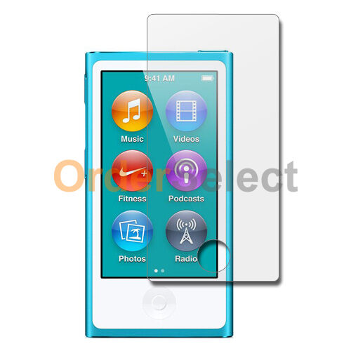 10X Ultra Clear HD LCD Screen Protector for Apple iPod Nano 7 7th Gen 100+SOLD