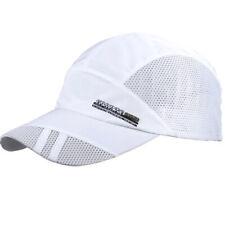 e7777e2b372f Baseball Caps Mens Womens Mesh Snapback Hat Unisex Sport Adjustable Peaked  Hats