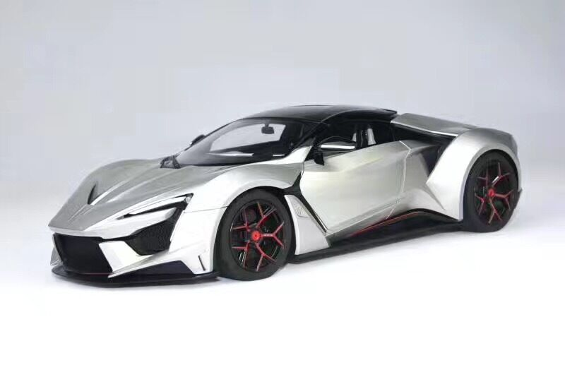 1 18 frontiart sophiart W Motors lykan fenyr hypersport Fast and the Furious 7