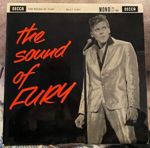 Billy-Fury-The-Sound-Of-Fury-10-034-DECCA-mono-LP-LF1329-Original