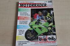 156581) Motorrad News - Motorrad Katalog 1998