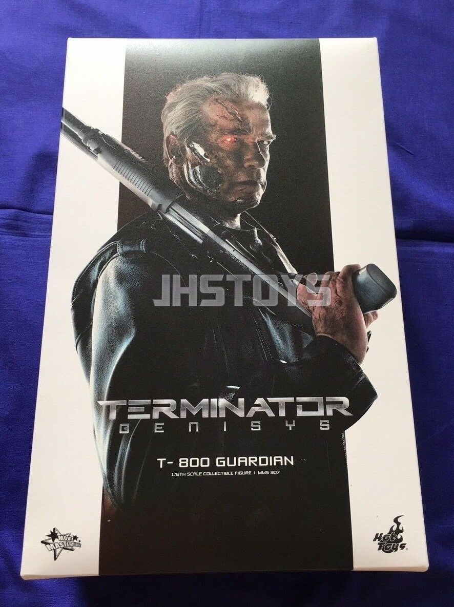 Open Box Unused Hot Toys 1/6 Terminator Genisys T-800 T800 Guardian MMS307 Japan