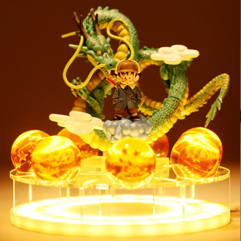 DRAGON BALL FIGURA DRAGON SHENRON FIGURE BOLA DE DRAGON, 7 bolas de Dragon